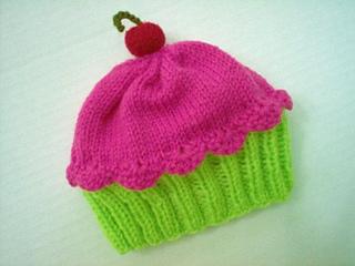 9cb1ea607 Cupcake Hat pattern by Vicki Mann
