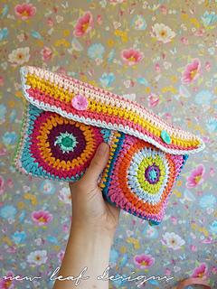 Ravelry: Rainbow Sprinkles Purse pattern by Carmen Jorissen