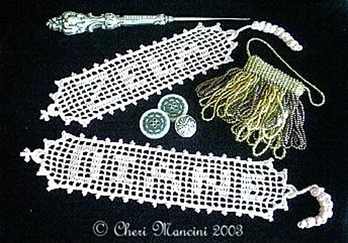 Ravelry Name Bookmark In Filet Crochet Pattern By Cheri Mancini
