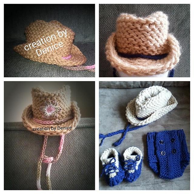 Ravelry: Cowboy Hat pattern by Denice Johnson