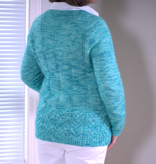 Ravelry: Waterfall Cardigan pattern by Cheryl Chow