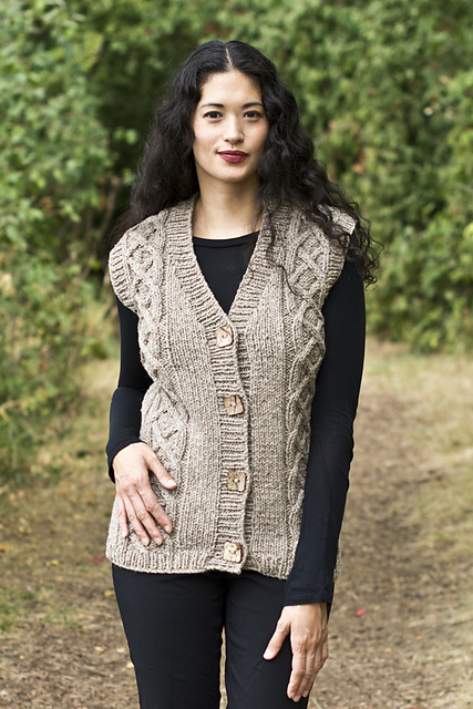 Ravelry Chester Vest Pattern By Melissa Leapman