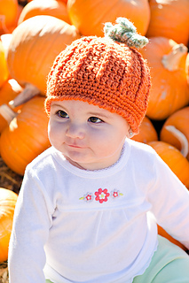 Ravelry  Pumpkin Harvest Hat pattern by Cathy Kurtz 7285cbc50c1