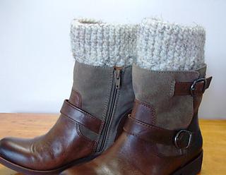 644703b748 Ravelry  Boot Cuffs pattern by Peg Barrows