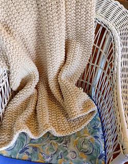 0afd83efb6 Ravelry  Chunky Wool Blanket pattern by Peg Barrows