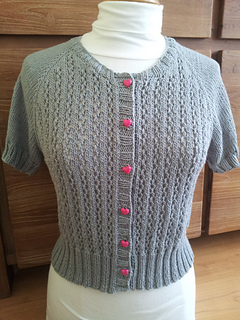 Ravelry Top Down Raglan Summer Lace Cardigan Pattern By