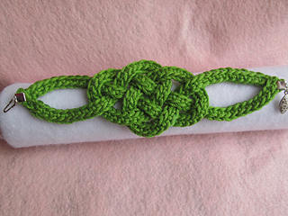 Ravelry Celtic Knot Bracelet Pattern By Jennifer E Ryan