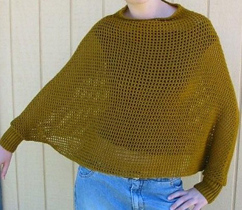 Ravelry Fabulous Crocheted Ponchos Patterns Enchanting Crochet Poncho Pattern Ravelry