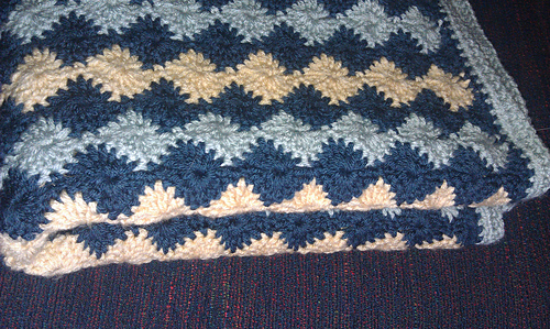 Ravelry Catherine Wheel Stitch Afghan Pattern By Shelly