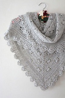 Ravelry Victoria Shawl Pattern By Sandra Paul