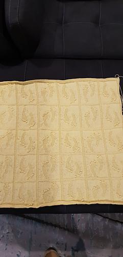 Ravelry Baby Footprint Blanket Pattern By Catiscrafty