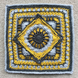 Ravelry The Jackfield Tile Square Pattern By Christine Bateman