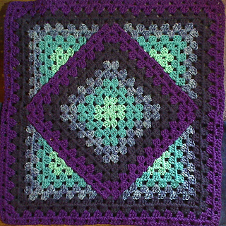Ravelry squared diamond granny throw pattern by chris apao dt1010fo