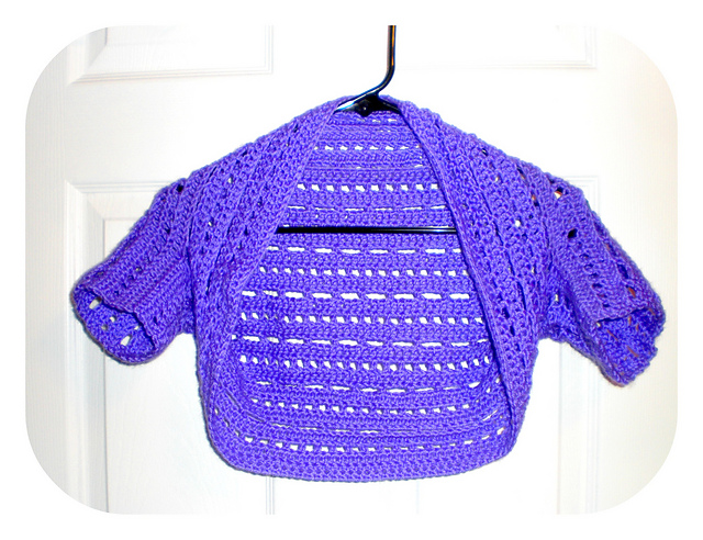 Ravelry Dots And Dashes Bolero Shrug Pattern By Cindy Coleman