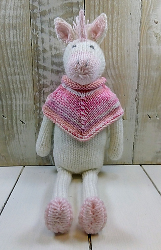 Ravelry Daphne The Unicorn Pattern By Sardines For Tea