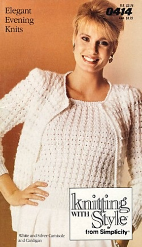 Ravelry Elegant Evening Knits 0414 Knitting With Style From