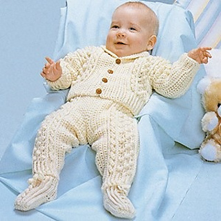 Ravelry Leisure Arts 288 Fisherman Crochet For Babies