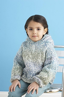 Weekend Hoodie Hooded Knitted Sweater Pattern By Lion Ravelry