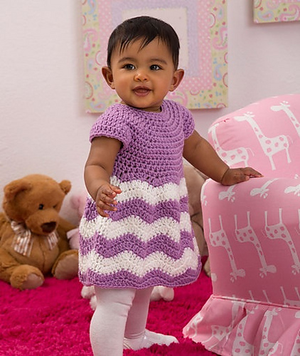 Ravelry: Red Heart EB110, Red Heart\'s Best: 12 Free Baby Crochet ...