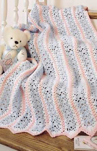 Ravelry: Leisure Arts #75473, Learn To Crochet Mile-A-Minute Baby ...