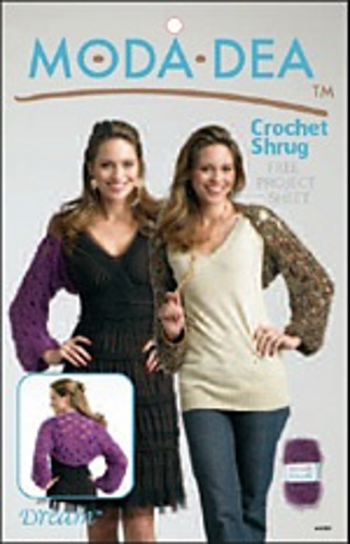 Ravelry Moda Dea Lm0233 Crochet Shrug Patterns