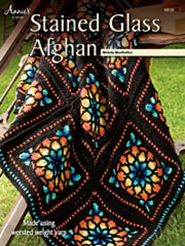Ravelry Stained Glass Window Afghan Pattern By Melody Macduffee
