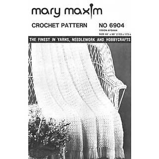 Ravelry: Vision Afghan pattern by Mary Maxim