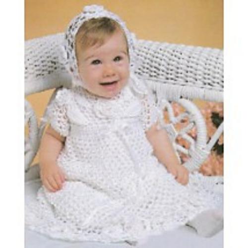 Ravelry Crocheted Christening Set Pattern By Helen Passey