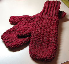 Ravelry: Soft 'n Warm Mittens pattern by Irene Stock