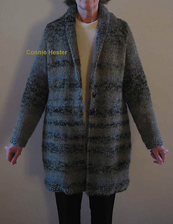 Ravelry Bulky Knit Coat Pattern By Connie Hester
