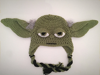 Ravelry  Star Wars Yoda Hat pattern by Forever Knotty ee8f6ee6785