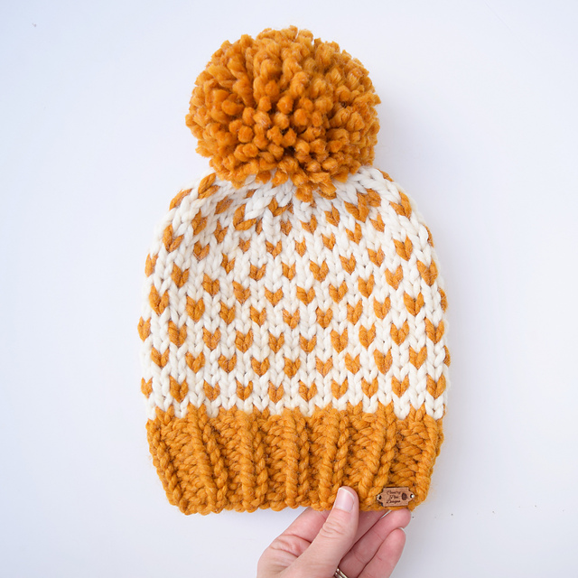 Ravelry: Tara Fair Isle Hat pattern by Country Pine Designs ...