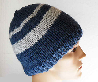 Ravelry  Men s Chunky Beanie pattern by Tina Dineen 5d0c6e7d482