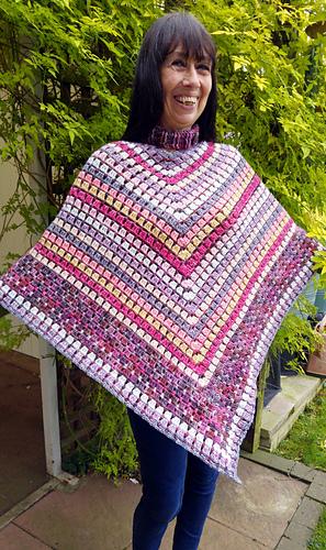 Ravelry Desert Irony Poncho Pattern By Kathryn Senior Beauteous Crochet Poncho Pattern Ravelry