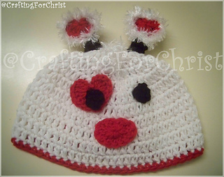 4fa52b9d9 Ravelry: B's Luv Bug Beanie: pattern by Crafting ForChrist Designs