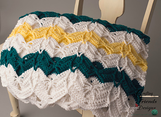 Diamond_burst_chevron_afghan_1