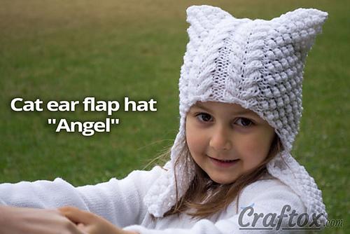 Ravelry Cat Ear Hat Angel Pattern By Olivia Craftox