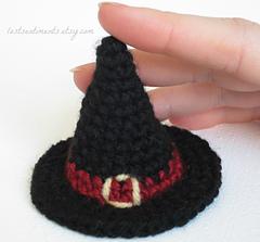 Mini Witch Hat in Amigurumi pattern by Dawn Pearson 9bbd6373af2