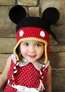 Ravelry Mickey Mouse Crochet Hat Pattern By Kelli Lund