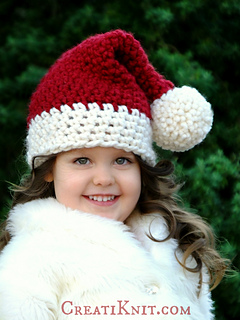 Ravelry  The Santa Baby Hat pattern by CreatiKnit 186248ab402