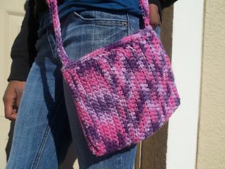 Crochet Crossbody Bag Pattern By Britt Walker Ravelry