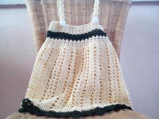 0e4653da976 Ravelry  Cute summer dress baby girl pattern by Fiorella Pittalà