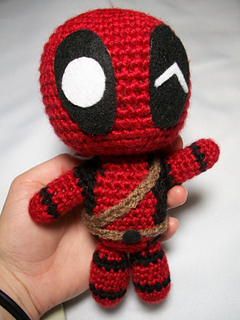 Ravelry Marvel S Deadpool Doll Pattern By Chelsea Thomas