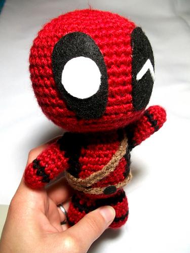 I Made A Smol Deadpool For Funsies Crochet