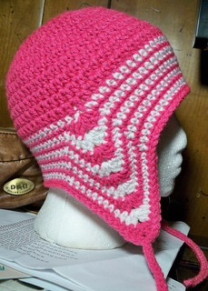 d5244e7c7 Ravelry: Easy Peasy Ear Flap Hat Pattern pattern by Julee Fort