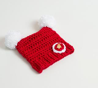 cdbcf5d280e Ravelry  Crochet Baby Christmas Hat pattern by Croby Patterns