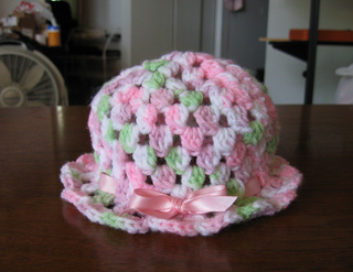 3ec2f9fe572 Ravelry  Super Easy Baby Hat pattern by Amy Thornton
