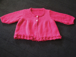 Ravelry Design A Smocked Cardigans Pattern By Sirdar
