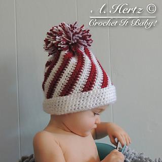 Ravelry  Crochet Candy Swirl Hat Pattern - 4 Sizes pattern by Crochet It  Baby b8483684c48