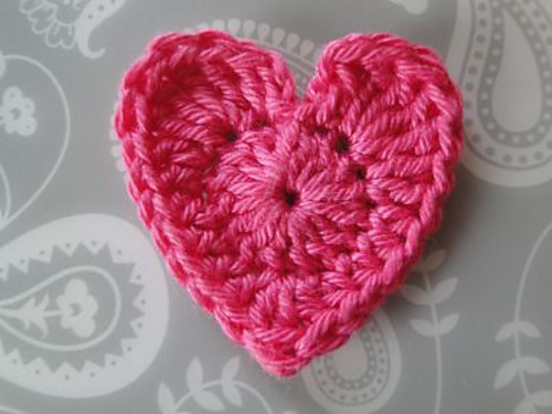 Ravelry Basic Crochet Heart Pattern By Claire From Crochet Leaf